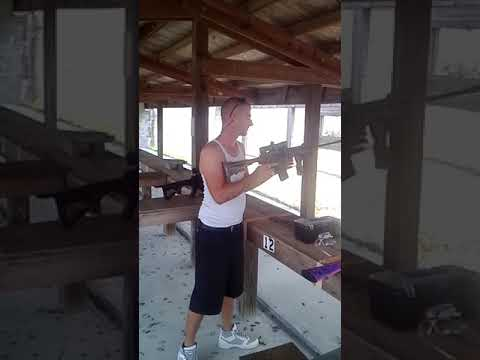 How to get kicked out of the gun range in 11 seconds !