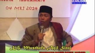KH. Musthofa Aqil Siradj (Isra Mi