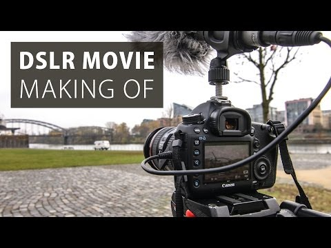 We made an 80-minute movie with DSLRs