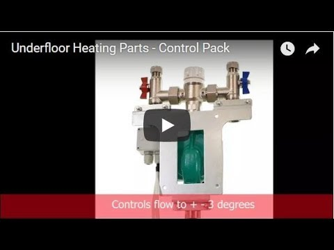 Underfloor Heating Parts - Control Pack