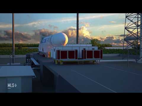 Maritime Launch Services Spaceport Animation