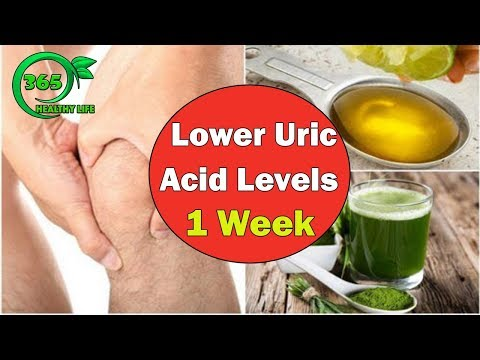 🍀[GOUT TREATMENT]Only Use the Natural Recipes, Lower Uric Acid Levels In 1 Week |HEALTHY LIFE 36