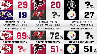 Week 2 NFL Game Picks & Win Probability
