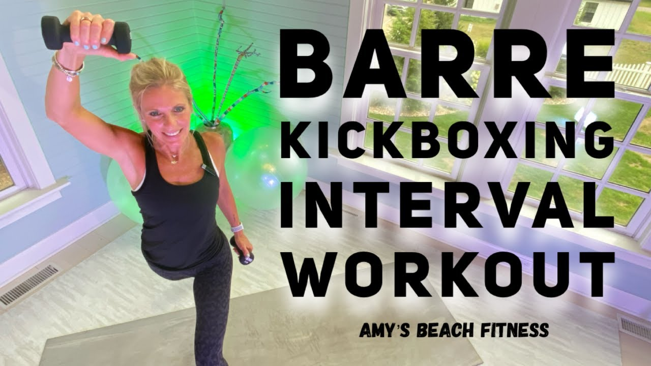 Barre Kickboxing Cardio Interval Workout