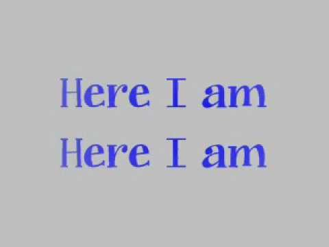 HERE I AM (with lyrics)-PLANET SHAKERS