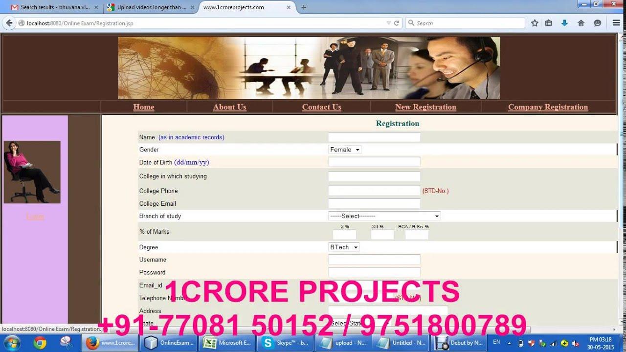 Online Job Portal Java