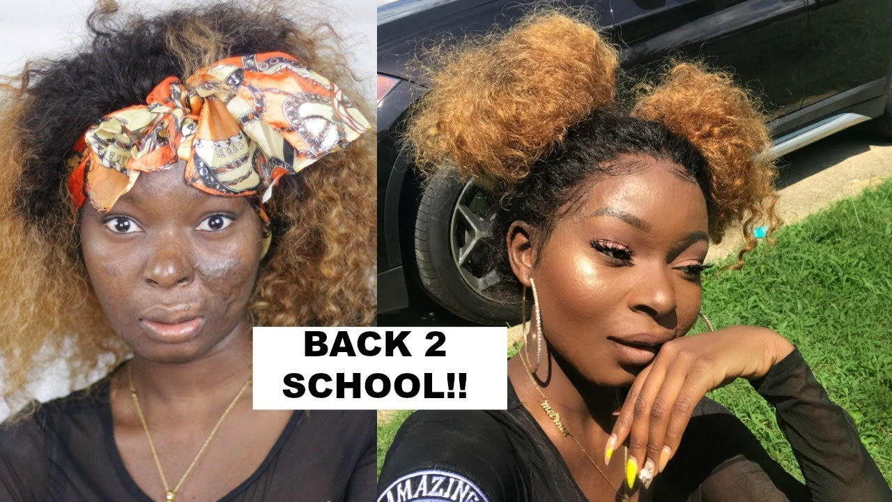 Back To School Get Ready With Me | Makeup Tutorial | ShalomBlac