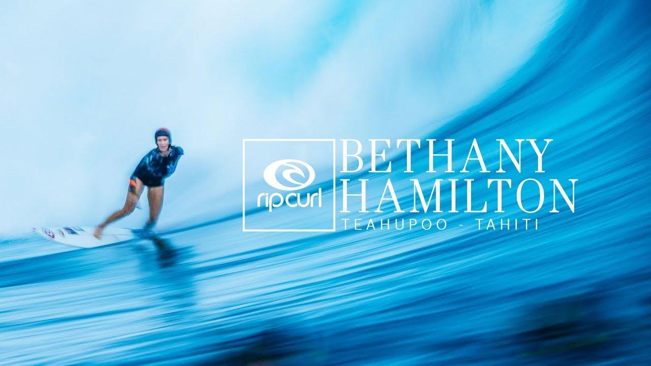 Bethany Hamilton En Teahupoo