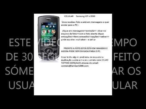 CELULAR SANSUNG GT-s3550- uma dica importante pra quem tem celular sansung gt-s 3550
