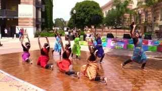 Abhinaya Dance Team - World Music & Movement Festival (Spring 2014)