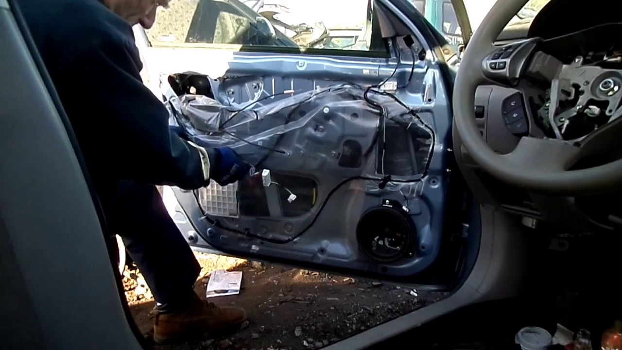 subaru forester window motor regulator removal [ 1280 x 720 Pixel ]