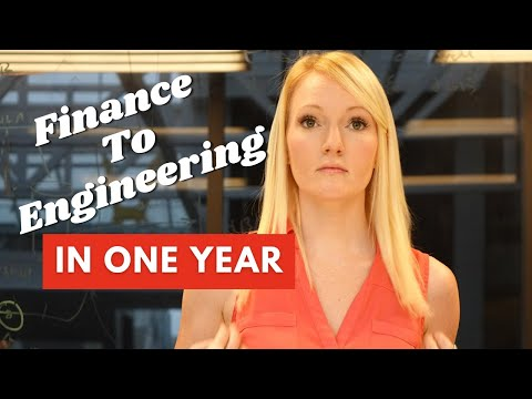 How I moved from finance to engineering in a year