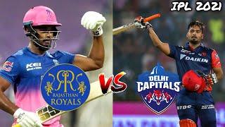 Delhi Daredevils Vs Rajasthan Royals 7th Match IPL 2021 | DD vs RR Match | Sachin Saga Cricket 🏏