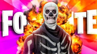 "PLAYING WITH THE *NEW* SKIN ""SKULL TROOPER"" IN FORTNITE BATTLE ROYALE!! *SORTEO 5 SKINS*"