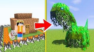 ЛЕСНОЙ МОНСТР ПРОТИВ САМЫЙ ЗАЩИЩЕННЫЙ ДОМ В МАЙНКРАФТ НУБИК 100 ТРОЛИНГ ЛОВУШКА Minecraft