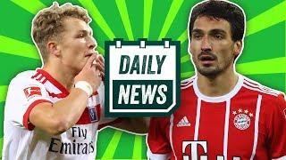 Lewandowski bleibt! Hummels zurück zum BVB und Jann-Fiete Arp zum FC Bayern München? - Daily News