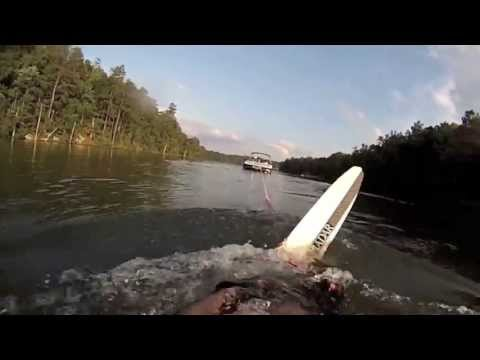 gopro water skiing (on the brink)