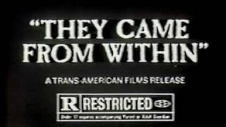 They Came From Within (1975) trailer