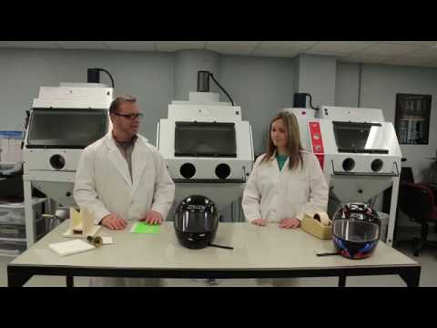 S2 E4: Sandblast a Motorcycle Helmet | Will It Blast