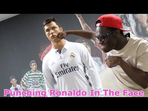 PUNCHING RONALDO IN THE FACE