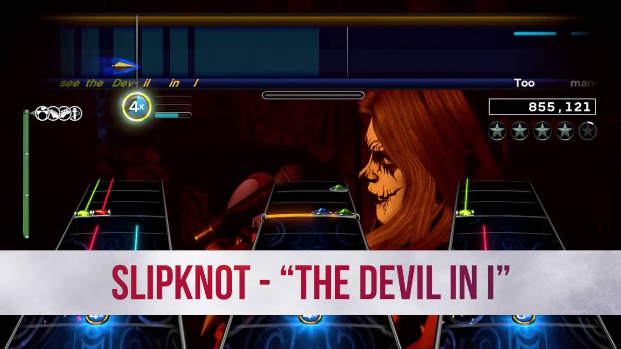 Rock Band 4 Adds More Ozzy Osbourne, Megadeth, and Slipknot Songs