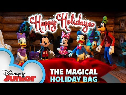 Mickey Mouse and the Magical Holiday Bag | Mickey Mouse Mixed-Up Adventures | Disney Junior