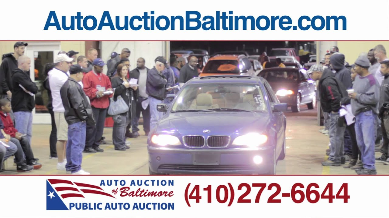 Visit Auto Auction of Baltimore