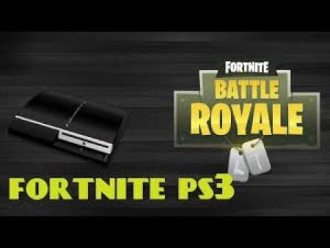 FORTNITE On PS3 *NO FAKE*