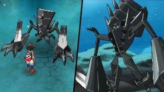 Legendary Necrozma Encounter at Mount Lanakila - Pokémon Ultra Sun and Moon