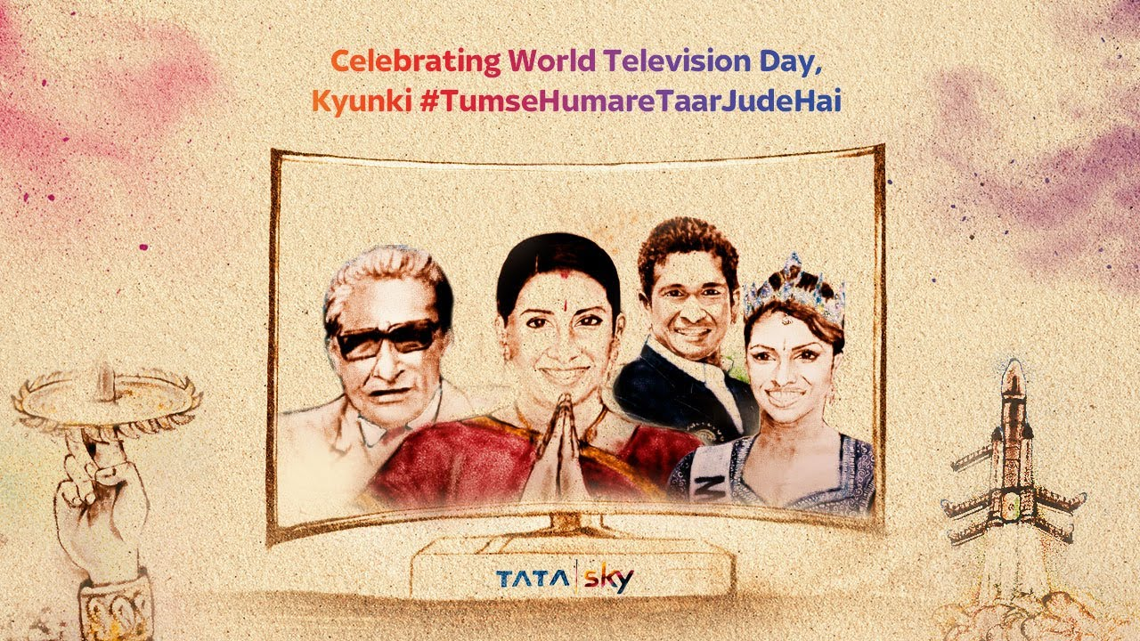 Tata Sky Wishes #WorldTelevisionDay | A Memorable Journey of Television - The Tale of Television