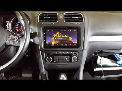 Radio Navegador DVD Android 5.1 para VW, Passat, Gol, Caddy, Polo, Tiguan.