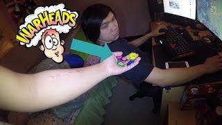 Warheads Candy Challenge   Vlog 003