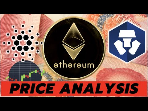 MAJOR CRYPTO UPDATES AND PRICE ANALYSIS | Ethereum ETH, Cardano ADA, and Crypto.com CRO
