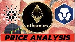 MAJOR CRYPTO UPDATES AND PRICE ANALYSIS | Ethereum ETH, Cardano ADA, and Crypto.com CRO