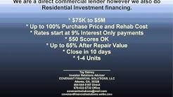 100% Rehab Financing For Real Estate Investors Nationwide