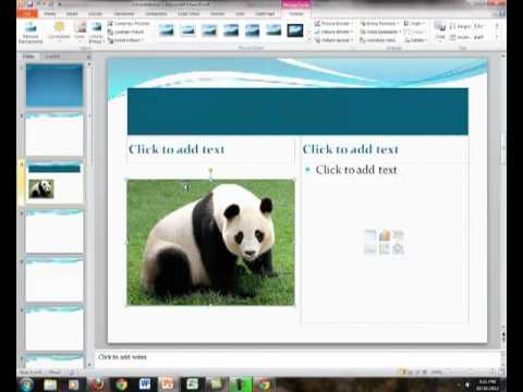 how to format a powerpoint slide youtube