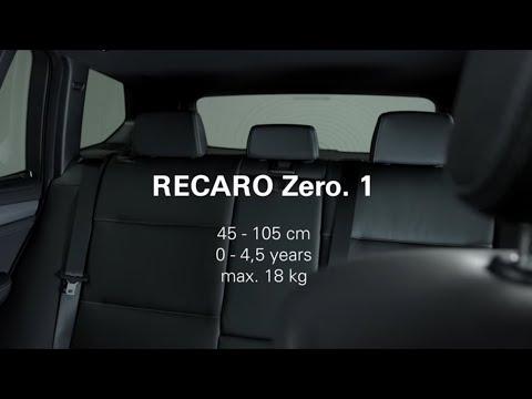 RECARO Zero.1: How To Install The Child Seat Correctly