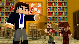 ARDA VE RÜZGAR OKULDAN ATILDI! 😱 - Minecraft