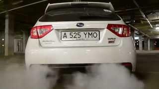 Subaru STi 2011 invidia q300 exhaust with catted downpipe