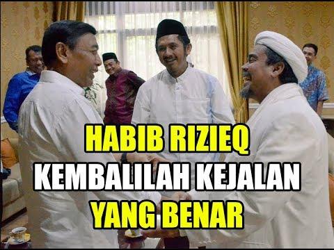 Habib Rizieq Shihab Sadarlah Kembali Ke Jalan Yang Benar Youtube