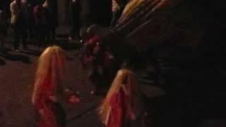 獅子舞 2009 利賀村坂上 七五三 夜の宮