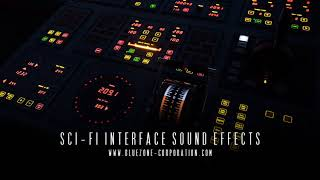 Sci Fi Interface Sound Effects UI Sounds BeepsData Processing SFX