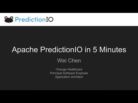 Apache PredictionIO in 5 minutes