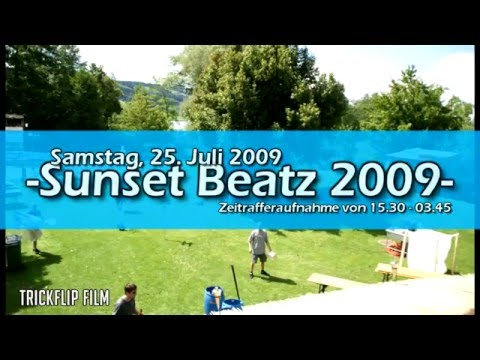 2009 Sunset Beatz - Zeitraffer