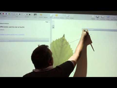 Créer des séquences pédagogique avec le logiciel libre et gratuit open-Sankoré