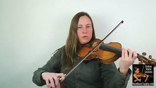 Violin Christmas Music – Oh Come All Ye Faithful - Miss Laura, Online Violin Teacher