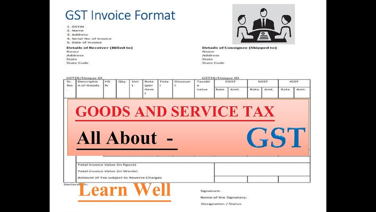 Business Invoice Software Pdf Gstall About Gstinvoice Formatregistration  Youtube Uk Invoice Sample Excel with Truck Invoice Prices Gstall About Gstinvoice Formatregistration Microsoft Receipt Templates