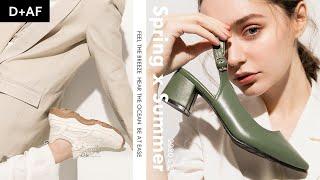 2020春夏形象 | 20SS Feel the breeze 春夏新品 清爽登場???? Springu0026Summer Shoes Collection | D+AF