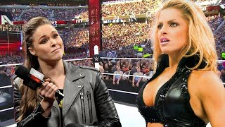 Ronda Rousey vs. Trish Stratus l Normal Match