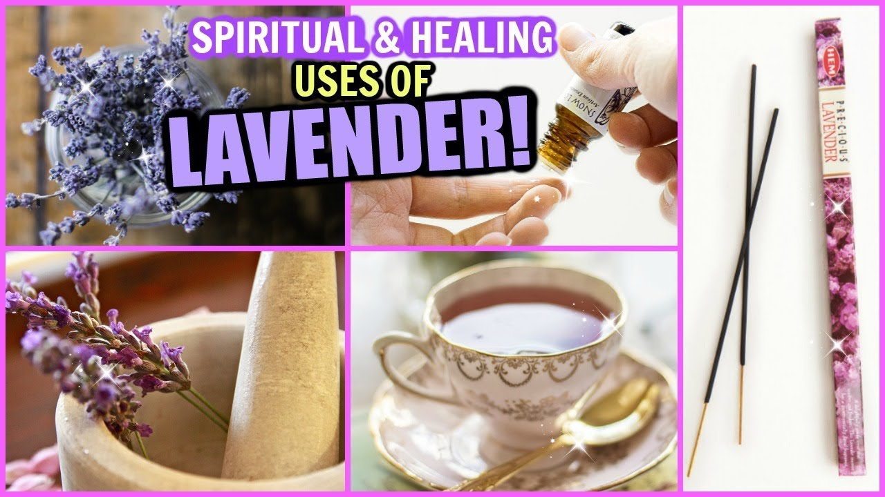 LAVENDER SPIRITUAL & HEALING BENEFITS! │ USES FOR SLEEP, PEACE & HARMONY IN  HOME, PAIN RELIEF & MORE
